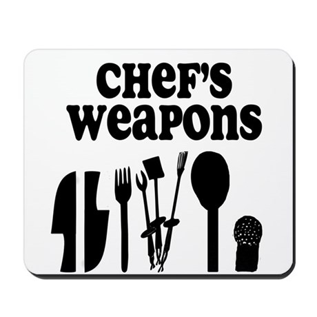 Chef's Weapons Mousepad