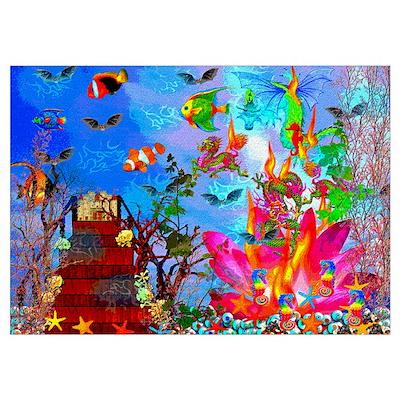 Fish Tank Fantasy Poster