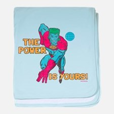 The Power Is Yours baby blanket