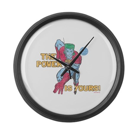 The Power Is Yours Large Wall Clock