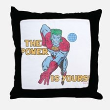 The Power Is Yours Throw Pillow