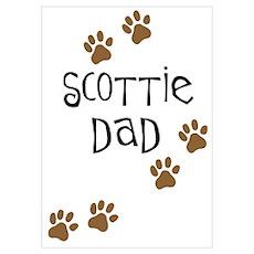 Scottie Dad Poster