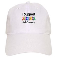 I Support All Causes Cap