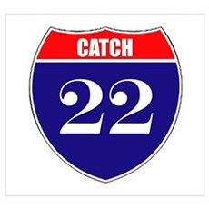 Catch 22 Route Poster