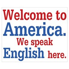 Speak English Poster