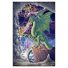 Dragon's Lair Mini 11x17 Print Poster