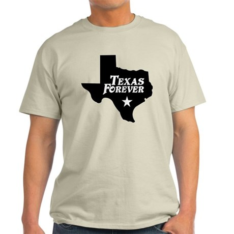 Texas Forever (White Letters) Light T-Shirt