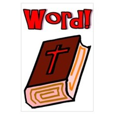 """Bible Word"" Poster"
