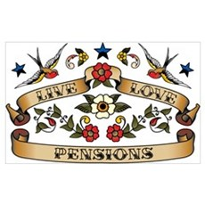Live Love Pensions Poster