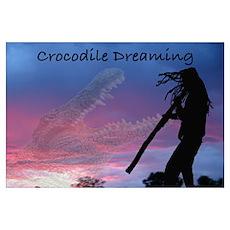 Crocodile Dreaming Poster