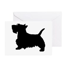 SCOTTY DOG Greeting Cards (Pk of 10)