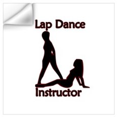 Lap Dance Instructor Wall Decal