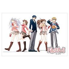 Kasumi Friends Poster