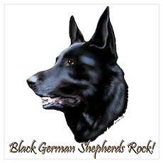 Black Sheps Rock Poster