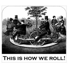 This Is How We Roll Framed Print