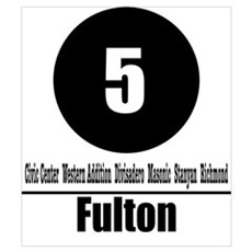 5 Fulton (Classic) Poster
