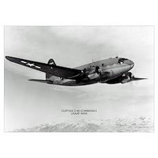 C-46 Commando Poster