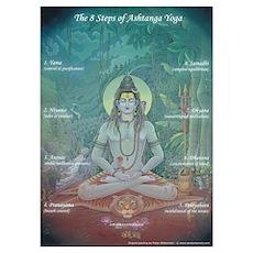 Ashtanga Yoga for Teaching Poster