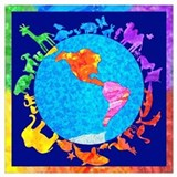 World peace Wrapped Canvas Art