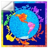 World peace Wall Decals