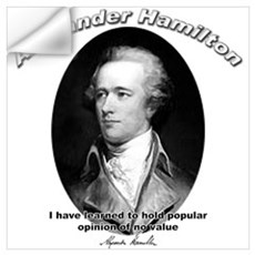 Alexander Hamilton 03 Wall Decal