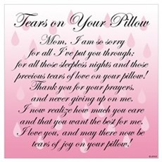 TEARS ON YOUR PILLOW Poster