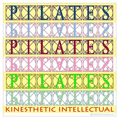 Pilates Kinesthetic Intellectual Framed Print