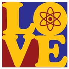 Nuclear Engineering Love Poster