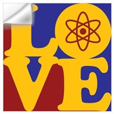 Nuclear Engineering Love Wall Decal