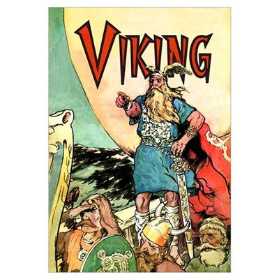 Viking Canvas Art
