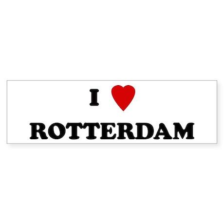I Love Rotterdam Bumper Sticker