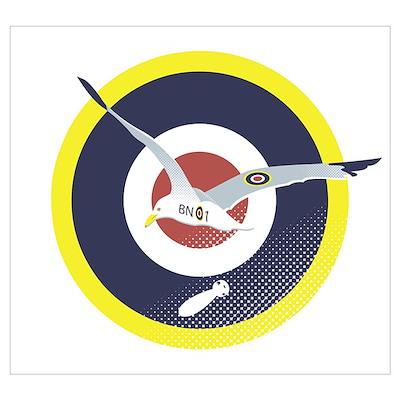 Brighton Seagull Poster