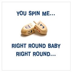 Spin me right round Framed Print