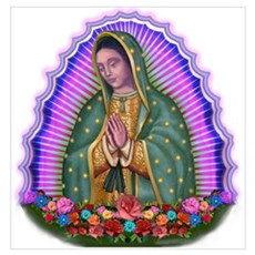 Lady of Guadalupe T4 Poster