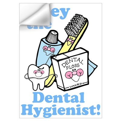 Obey the Dental Hygienist Wall Decal