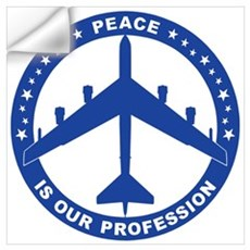 B-52H Peace Sign Wall Decal