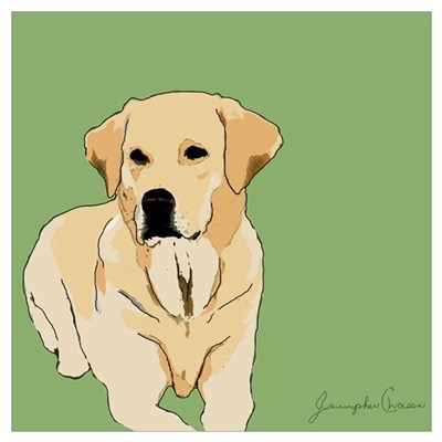 The Artsy Dog Lab Series Canvas Art