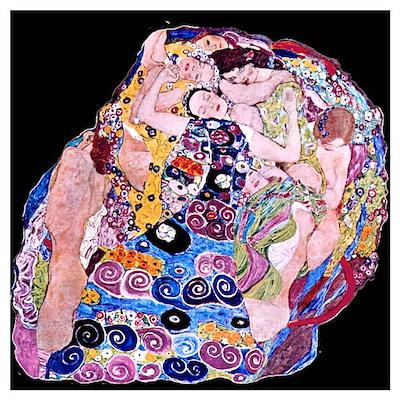 Klimt's The Virgin Poster