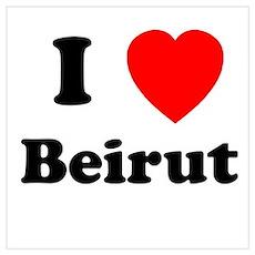 I Heart Beirut Poster
