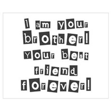 Your Brother! Framed Print