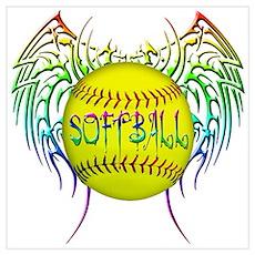 Tribal softball Poster
