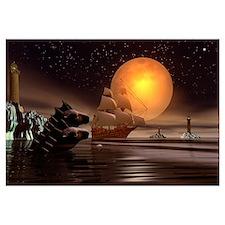 Full Moon Seahorse