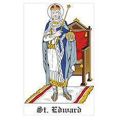 St. Edward Poster