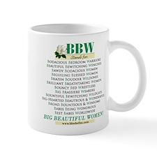 Funny Big beautiful women Mug
