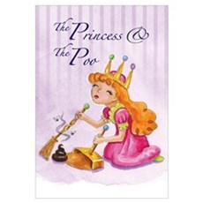 """Princess and the Poo"" 11""x17"" Poster"