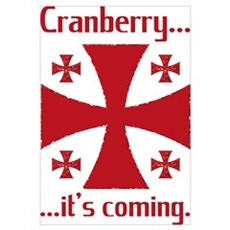 Cranberry is Coming Sunday School Classroom Framed Print