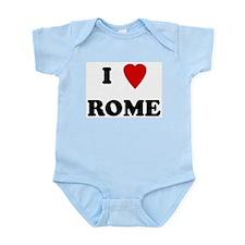 I Love Rome Infant Creeper