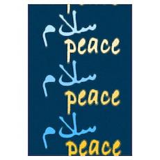Peace Salaam Poster