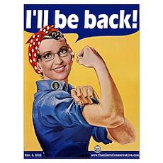 I'll Be Back! Poster