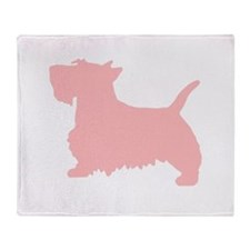 SCOTTY DOG Throw Blanket